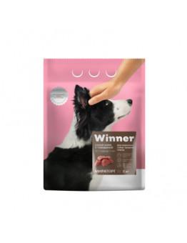 Корм Winner для взрослых собак средних пород, говядина