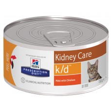 Hill's Prescription Diet k/d Feline, лечение почек, 156 гр