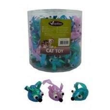"Игрушка Papillon Glitter mouse для кошек ""Мышка"" шуршащая, 5 см"