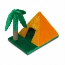 """Домик 116 """"Пирамидка"""" с когтет. """"Пальма"""" (мех)"""
