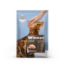 Корм Winner для взрослых кошек всех пород, курица