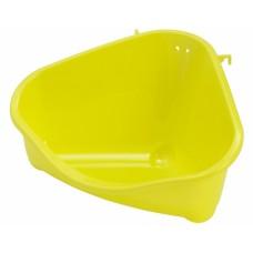 Туалет для грызунов pet's corner угловой средний, 35х24х18, лимонно-желтый (pet's corner medium) MOD-R200-329, pet's corner medium