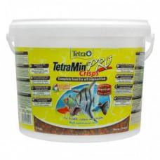 Tetra 10л Min Pro Crisps основной корм для всех рыб
