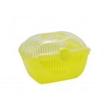 Переноска-корзинка Moderna Toprunner large, большая, лимонно-желтый, 48х36х32 см