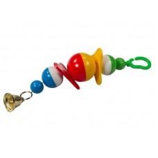 2 пропеллера 29см игрушка для попугаев 7710