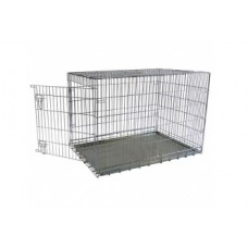 Клетка металлическая с 1 дверкой, 118x78x85 см, Wire cage 1 door
