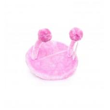 """Игрушка Papillon Cat toy для кошек """"НЛО"""", розовая, плюш, 20х25 см"""