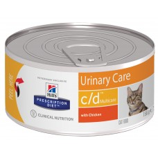 Hill's Prescription Diet Feline c/d Multicare, 156 гр