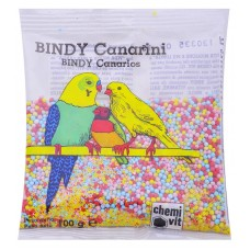 Cliffi Лакомства для канареек: медовые зерна с минеральными солями, Bindy Canarini, 100 гр