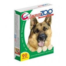 Мультивитаминное лакомство Доктор Zoo, для собак, здоровье и сила, 90 таблеток