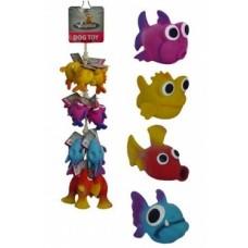 """Игрушка Papillon Fish on rope для собак """"Морская Рыбка"""", латекс, 10-14 см"""