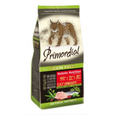 Корм PRIMORDIAL для кошек при МКБ, беззерновой, индейка/сельдь