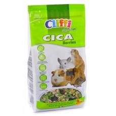 Cliffi Корм для морских свинок, шиншилл, дегу и луговых собачек, CICA berries SELECTION