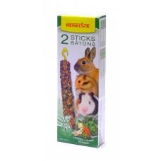 Лакомые палочки Benelux Seedsticks rodents Vegetables x 2 pcs, для грызунов, овощи, 130 г