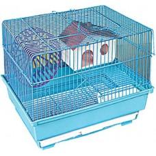 Клетка для грызунов 3304К (2эт 34,5х28х24см)*12Кит