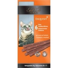 Колбаски Edel Cat для кошек, ягненок/индейка, 6 шт. по 5 г