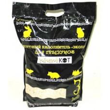 Кукурузный наполнитель для грызунов, 3 л