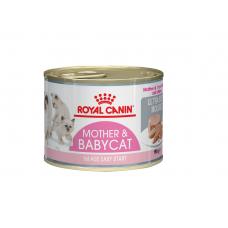 Корм Royal Canin BabyCat Instinctive для котят до 4 месяцев, мусс, банка, 195 г