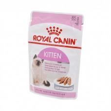 Корм Royal Canin Kitten для котят: 4-12 месяцев, паштет, пауч, 85 г