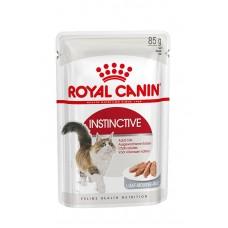 Корм Royal Canin Instinctive для кошек 1-10 лет, паштет, пауч, 85 г